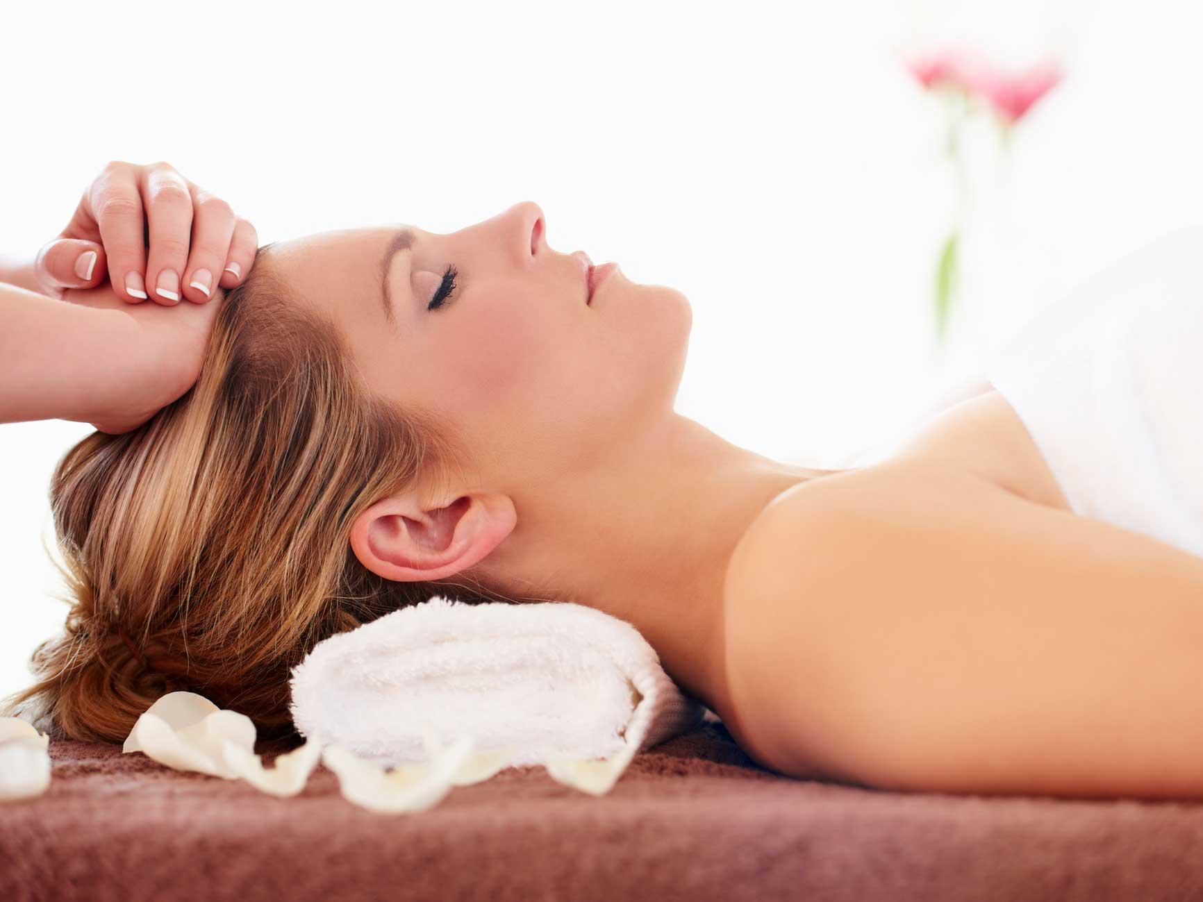 Indian Head Massage Neck & Shoulder